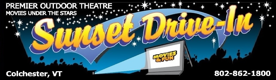 Sunset Drive In Theatre Colchester Vermont Movies 4 Screens